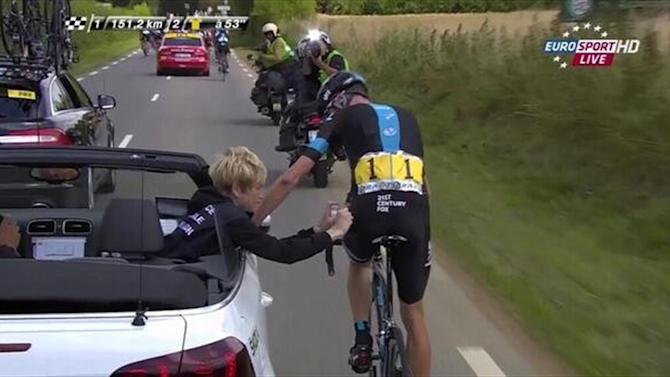 Tour de France - Froome suffers multiple injuries in Tour crash