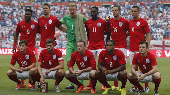 World Cup - England game delayed for 'minimum of 30 minutes'