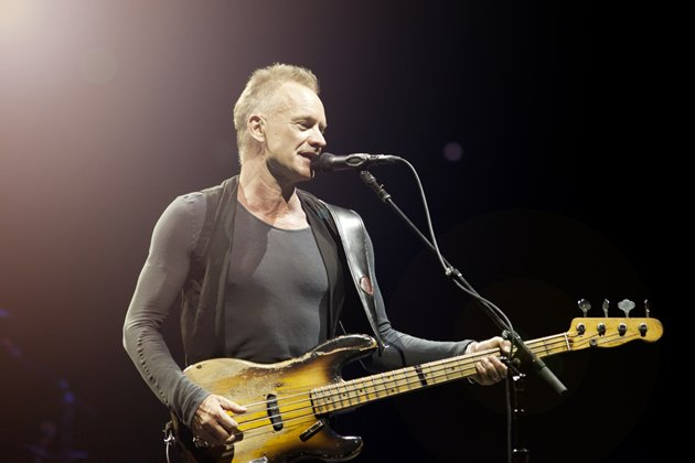 Singer-songwriter and musician Sting may be 61, but the veteran entertainer has more in him than even people half his age. (Photo courtesy of Sony Pictures)