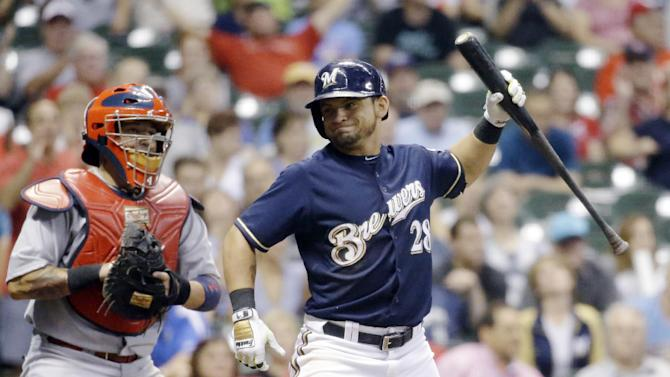Cardinals beat Brewers 3-2 to win 6th straight