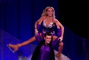 Dancing On Ice's Matt Lapinskas Reveals Show Has 'Brought Him Closer To His Girlfriend'