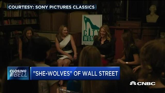 """""""She-wolves"""" of Wall Street"""