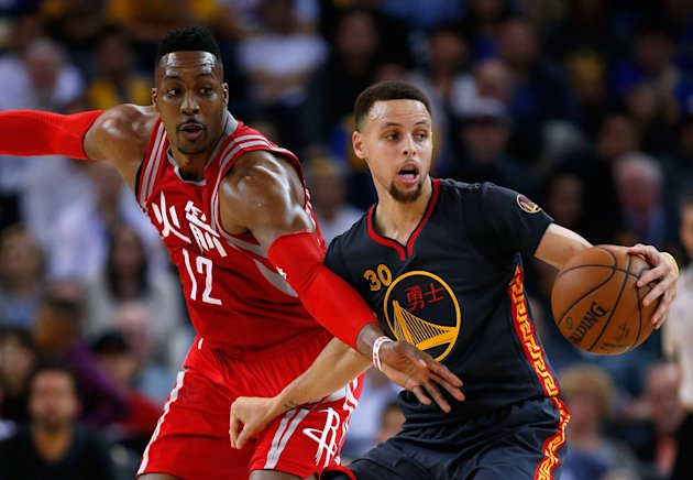 The Warriors will be huge favorites against Dwight Howard and the Rockets. (Ezra Shaw/Getty Images)