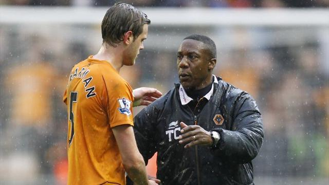 Former boss Connor sacked by Wolves