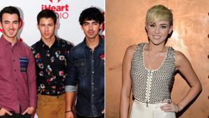 Jonas Bros. Talk Exes Miley & Taylor