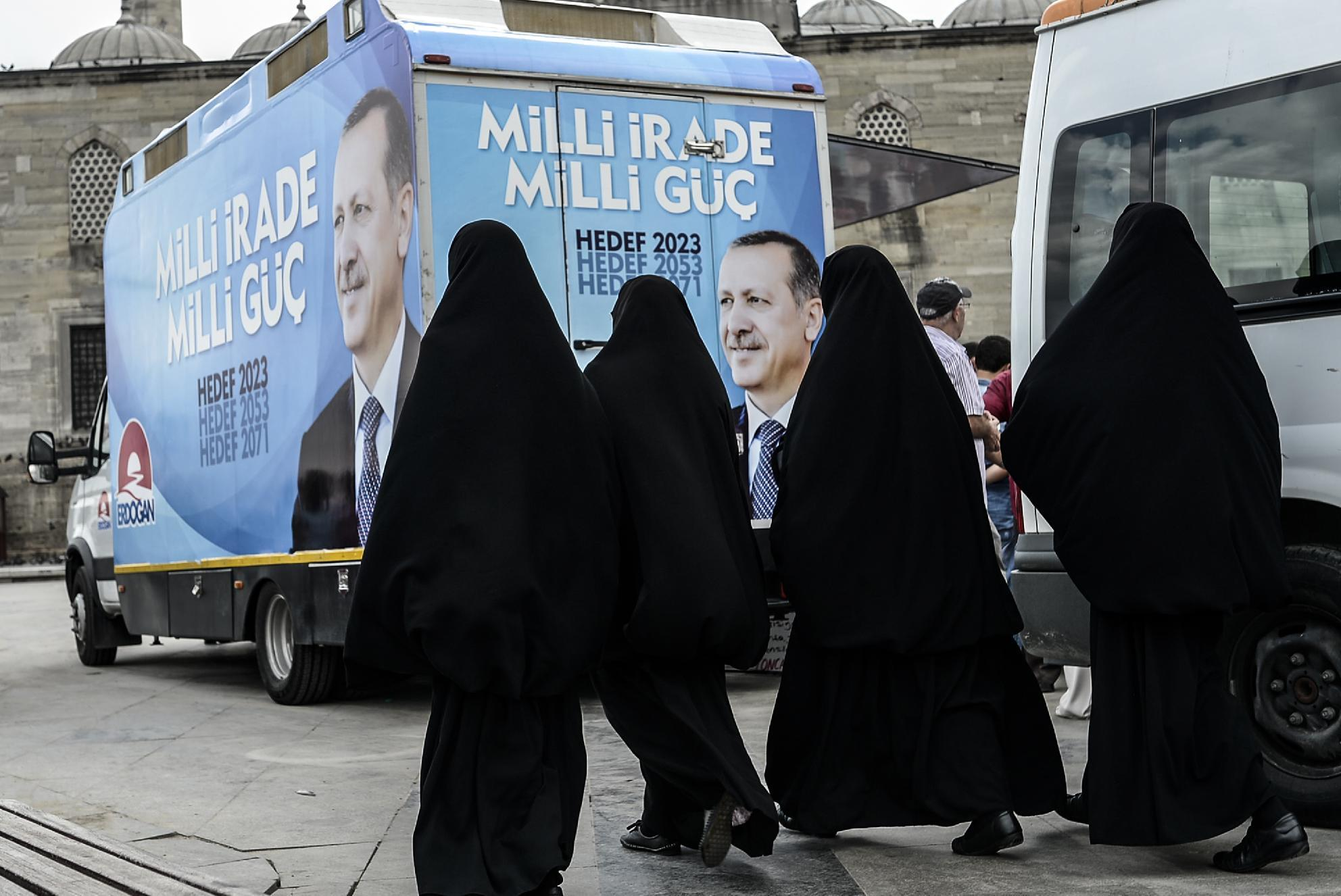 Turkey's Erdogan slams birth control as 'treason'