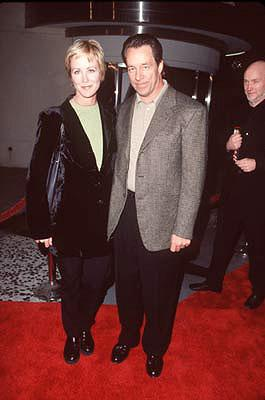 Joanna Kerns and husband at the premiere of Gramercy's Lock, Stock and Two Smoking Barrels