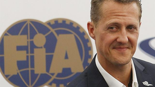 Formula 1 - Schumacher 'will not race on' after F1 exit