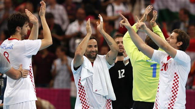 Handball - Croatia beat Slovenia to win world bronze