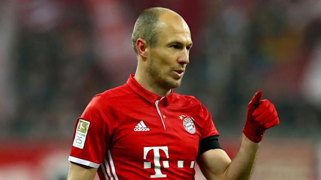 No club would represent a step up for a player leaving Bayern Munich, according to veteran winger Arjen Robben.