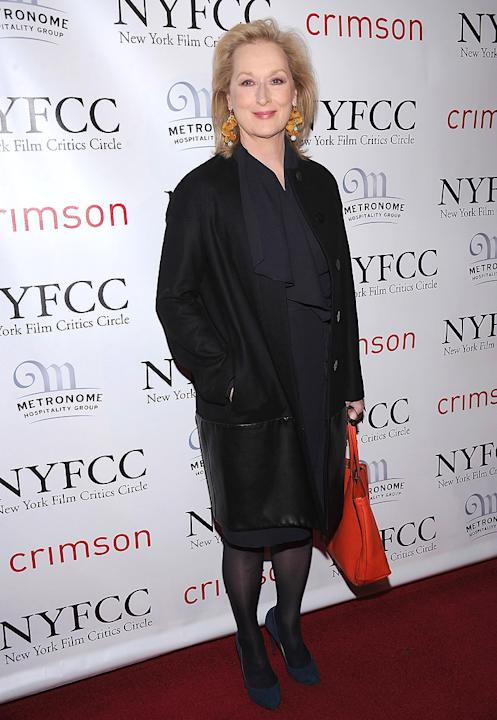 New York Film Critics Circle Awards 2012 Meryl Streep