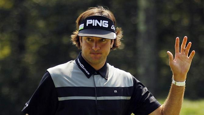 Golf - Bubba Watson powers to third-round Memorial lead