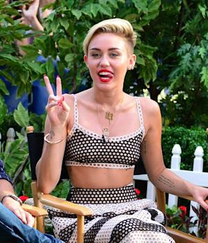 Miley Cyrus is seen on July 15, 2013 in New York City -- Getty Premium