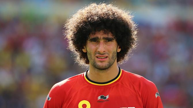 Serie A - Fellaini's Napoli move in jeopardy