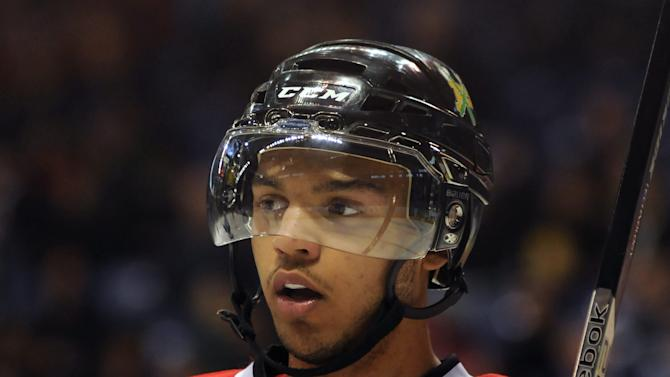 Portland defenceman Seth Jones