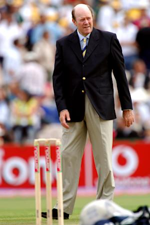 Tony Greig has been diagnosed with lung cancer