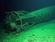 This photo, taken by the Australian navy, shows the wreck of a World War II M24 Japanese midget submarine at the bottom of Sydney Harbour, pictured in 2007. Australia is to open up to divers the wreck of the submarine, after winning support from Tokyo, according to authorities