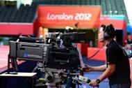 A cameraman tests his equipment one day before the start of the London 2012 Olympic Games on July 24. Video replay technology will be used at the Olympic judo competition for the first time in an effort to eradicate judging controversies