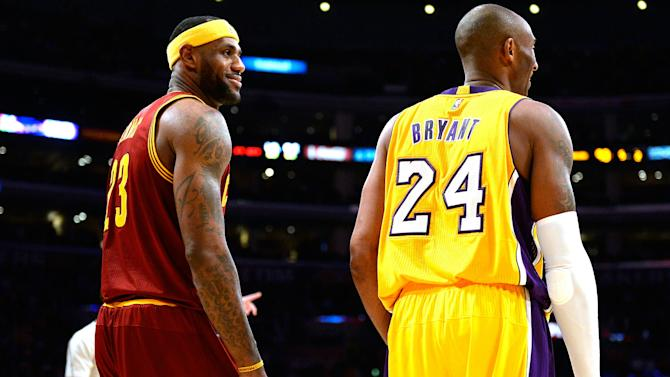 LeBron wishes he'd faced Kobe in NBA Finals