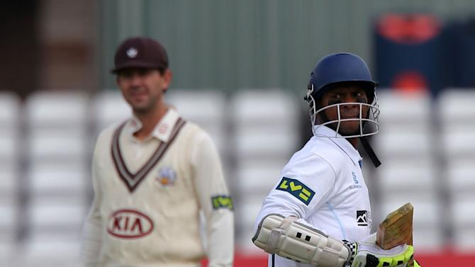 Cricket - LV= County Championship Division One - Day One - Derbyshire v Surrey - County Ground