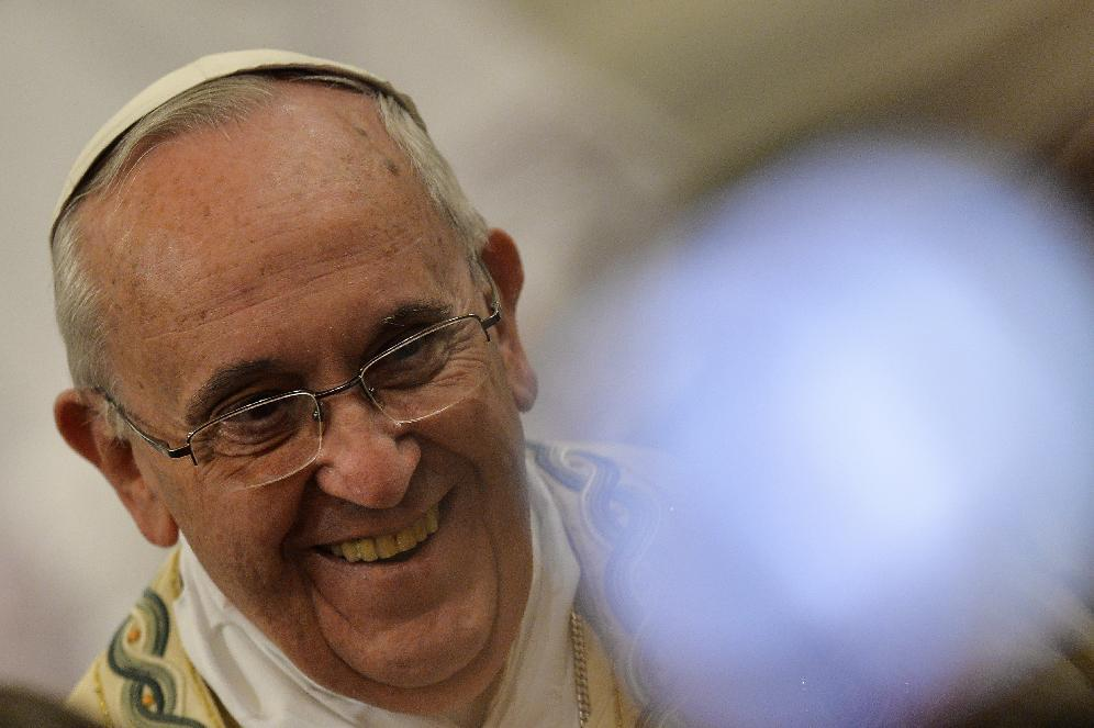 Pope opens doors to transsexual dubbed 'devil's daughter'