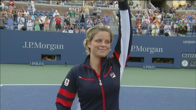 Retiring Clijsters: I feel happy