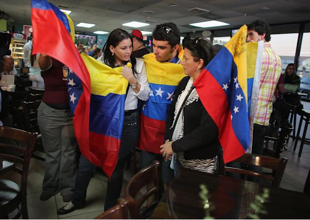 Venezuelans In Miami Area React To Death Of Hugo Chavez