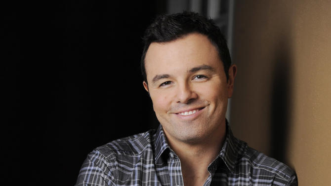 "FILE - This June 16, 2012 photo shows Seth MacFarlane, director and co-writer of the film ""TED,"" posing for a portrait at The Four Seasons Hotel in Beverly Hills, Calif. Macfarlane will host the 85th Academy Awards on Sunday, Feb. 24, 2013 on the ABC Television Network. (Photo by Chris Pizzello/Invision/AP, file)"