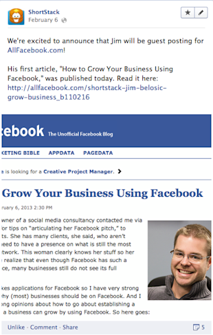 8 Must Know Facebook Tips for Small Businesses   Part 1 image jimallfacebook