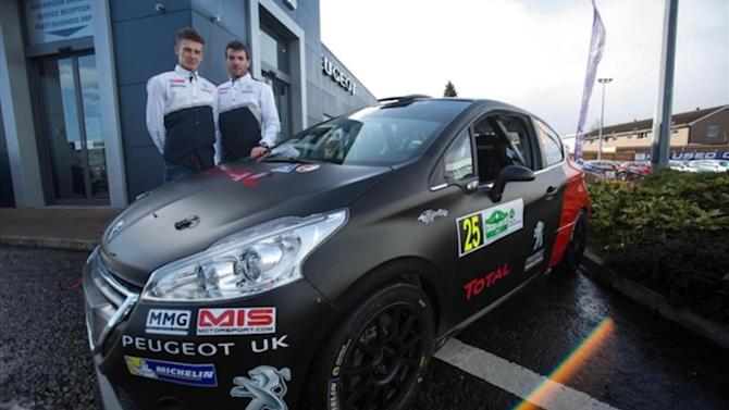 ERC - Cool new ERC livery for Chris Ingram in Ireland