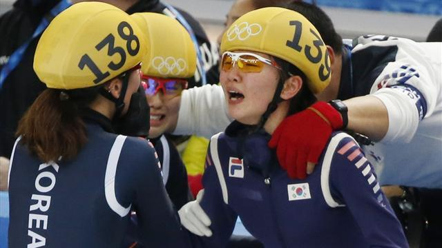 Short Track - South Korea pick up 3000m ladies' relay gold