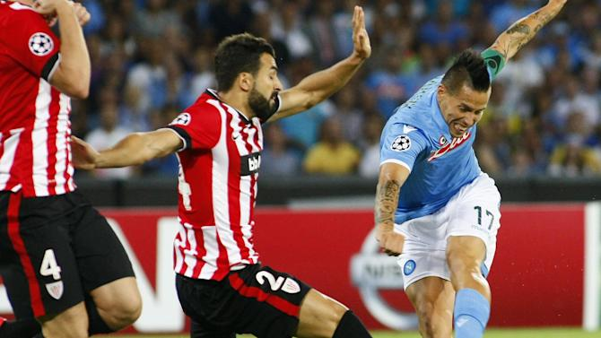Champions League - Advantage Athletic after draw in Naples