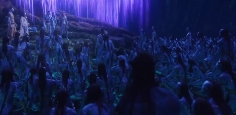 A scene from the original 'Avatar' movie