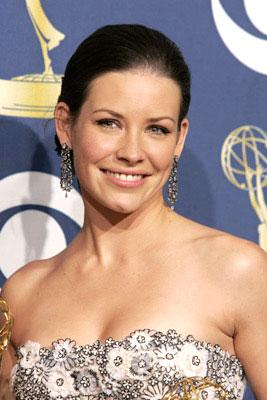 "Evangeline Lilly of ""Lost"" 57th Annual Emmy Awards Press Room - 9/18/2005"