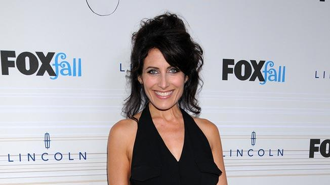 "Lisa Edelstein of ""House"" arrives at the 2010 Fox Fall Eco-Casino party on September 13, 2010, at Boa in West Hollywood."