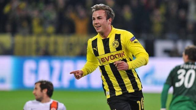 Bundesliga - Dortmund confirm Goetze to join Bayern Munich for £32m
