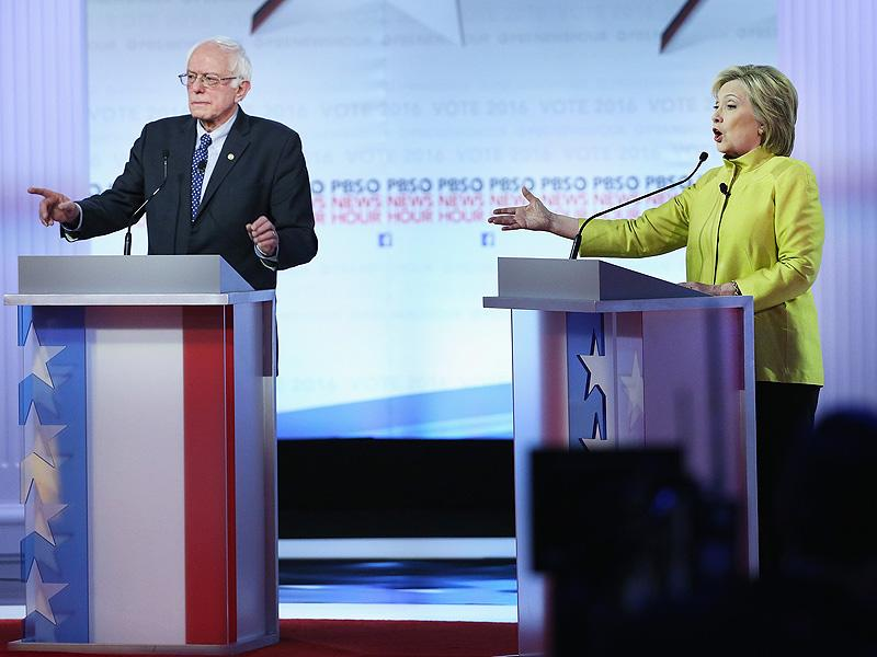 After Clinton Bashes His Criticism of President Obama, Bernie Sanders Has a Biting Comeback
