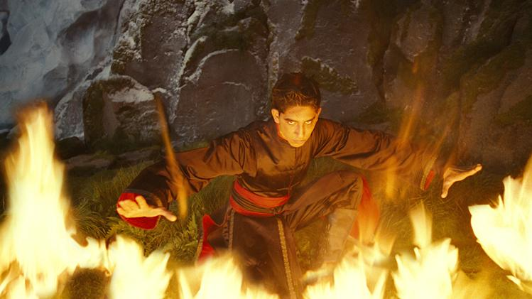 The Last Airbender Paramount Pictures Production Photos 2010 Dev Patel