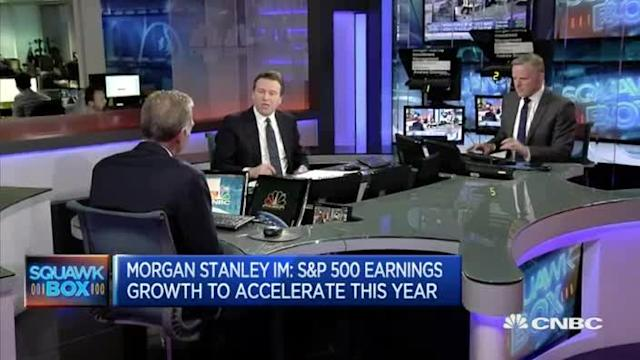 Banking industry our focus right now: Morgan Stanley