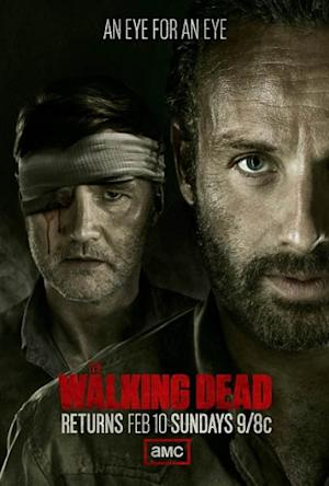 'Walking Dead' Midseason Poster: The Governor Keeps His (One Good) Eye on Rick