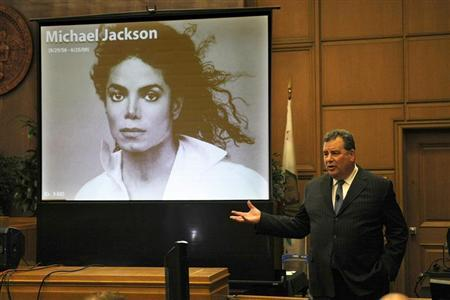 Brian Panish, attorney for the Michael Jackson family delivers his closing argument to jurors in a packed courtroom in Los Angeles, September 24, 2013. REUTERS/Al Seib/Pool