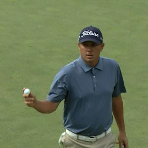Jason Dufner's dialed in tee shot sets up for birdie at Deutsche Bank