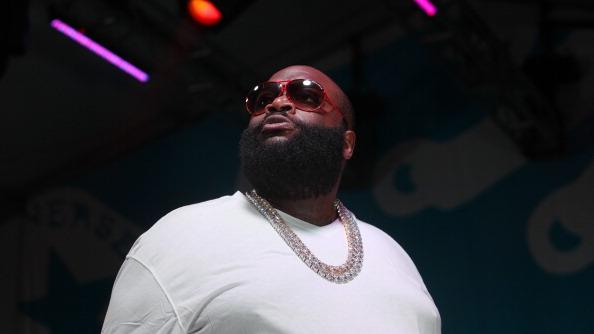 AUSTIN, TX - MARCH 17: Rick Ross performs onstage at Fader Fort presented by Converse during SXSW on March 17, 2012 in Austin, Texas. (Photo by Roger Kisby/Getty Images)
