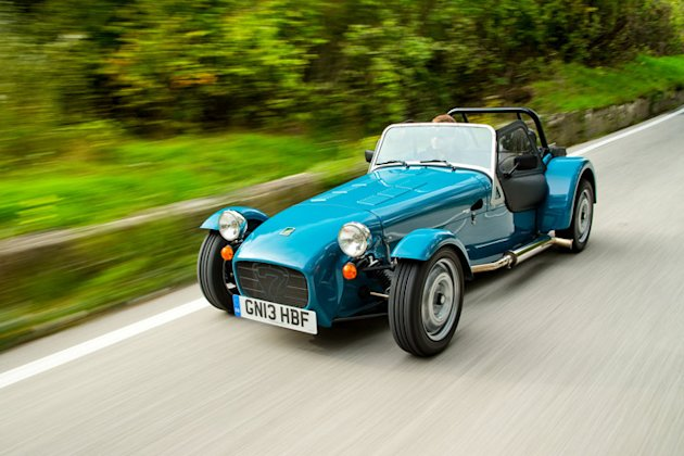 caterham seven new models US photo