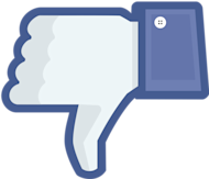 Branding Lessons Learned From The Latest Facebook Outage image facebook thumbs down