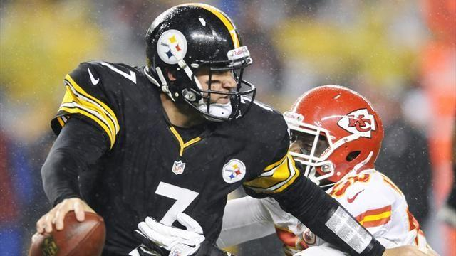 NFL  - Roethlisberger injured as Steelers edge out Chiefs