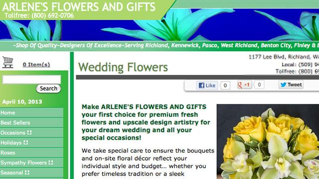 Florist Who Refused Flowers to Gay Wedding Sued