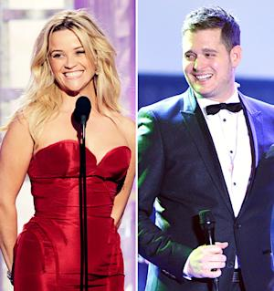 Reese Witherspoon May Record Duet With Michael Buble