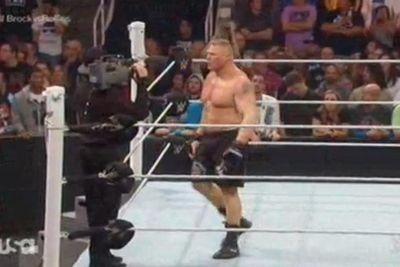 Brock Lesnar just destroyed EVERYBODY on Monday Night Raw