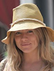 Sienna Miller celebrates at baby shower